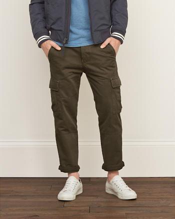 ANF Slim Straight Cargo Chino Pants