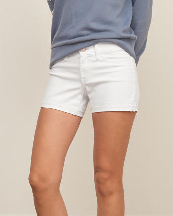 ANF Low Rise 4 Inch Denim Shorts