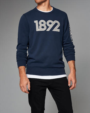 ANF Graphic Crew Sweatshirt
