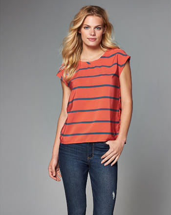 ANF Short-Sleeve Dolman Top
