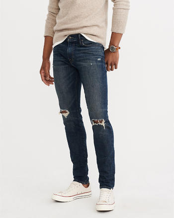 ANF Ripped Super Skinny Jeans