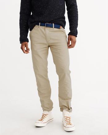 ANF Slim Straight Chino Pants