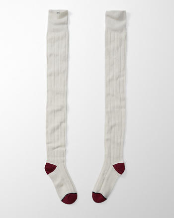 ANF Cable Over The Knee Socks
