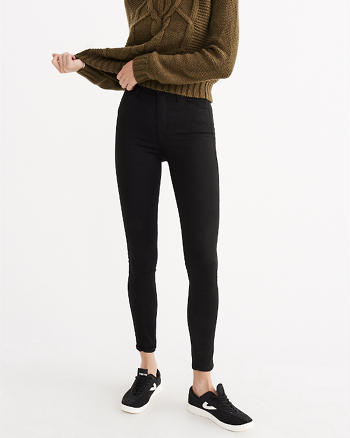 High-Rise Ultra Skinny Jean Leggings