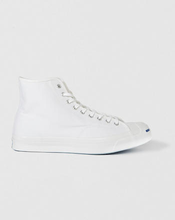 ANF Converse Jack Purcell Signature Canvas High Top Sneaker