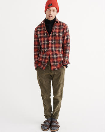ANF Winter Flannel Shirt