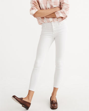 ANF Super Skinny Ankle Jeans