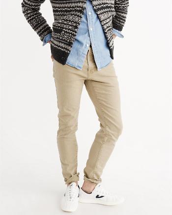 ANF Khaki Skinny Jeans