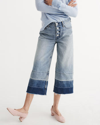 ANF High Rise Stovepipe Jeans
