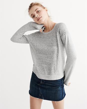 ANF Colorblock Crew Sweatshirt