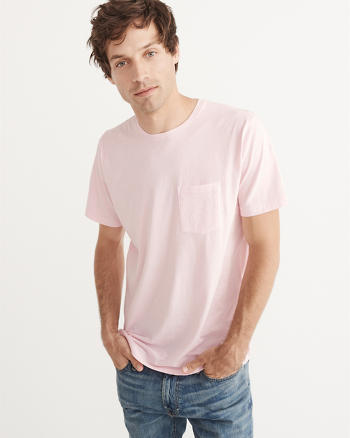 ANF Garment Dye Pocket Tee