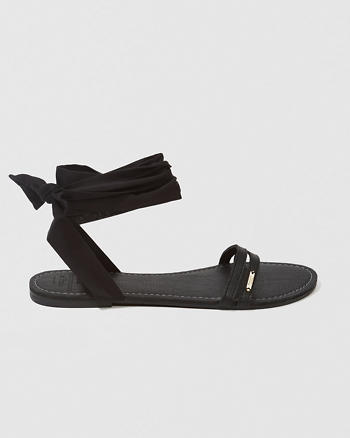 ANF Ankle Wrap Sandals