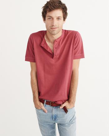 ANF Garment Dye Henley