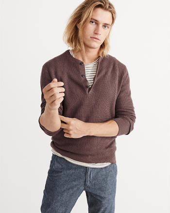 ANF Sweater Henley