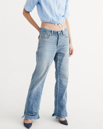 ANF Wide Leg Jeans