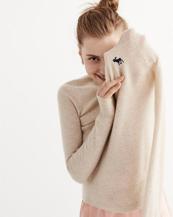 ANF Cashmere Icon Crew Sweater