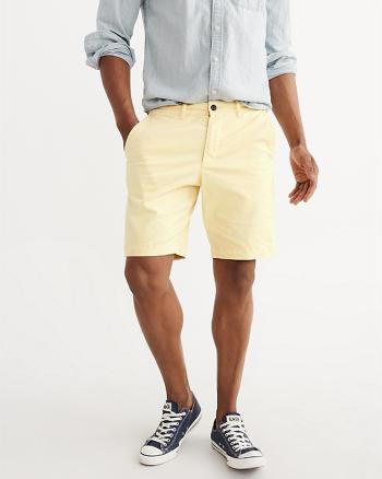 ANF Flat-Front Garment Dye Shorts