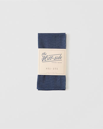 ANF The Hill-Side Pocket Square