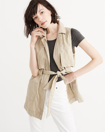 ANF Drapey Trench Vest