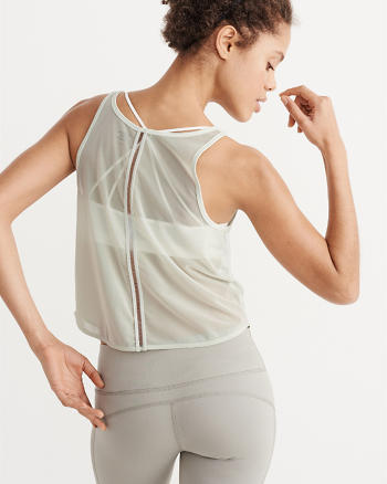 ANF Active Mesh Back Tank