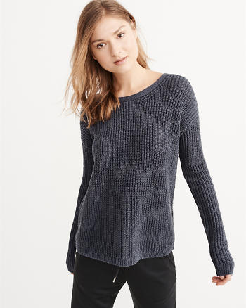 ANF Cross Back Sweater