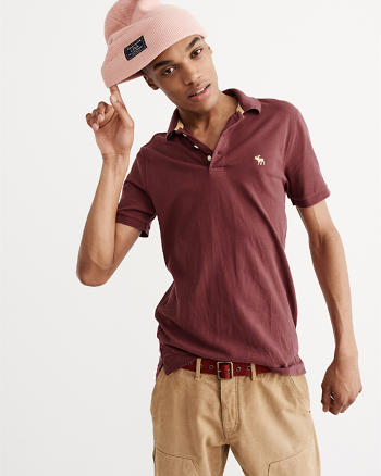 ANF Stretch Pop Icon Polo