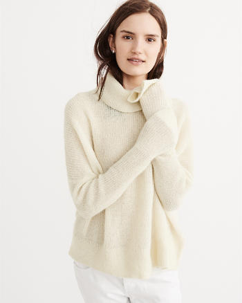 ANF Mohair Turtleneck Sweater