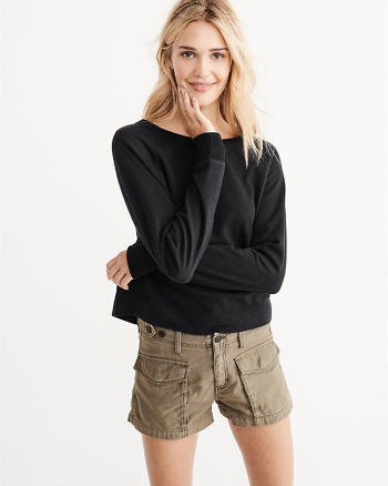 ANF Terry Crew Sweatshirt