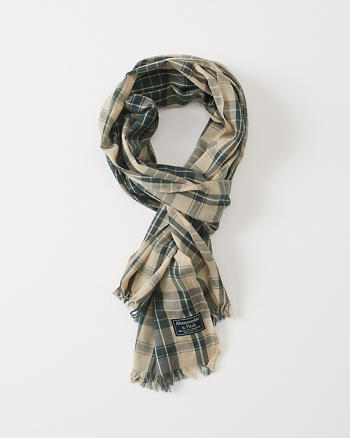 ANF Plaid Scarf