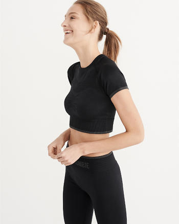 ANF Active Cropped Top