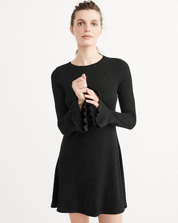 ANF Ribbed Knit Dress