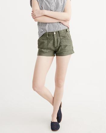 ANF Military Midi Shorts