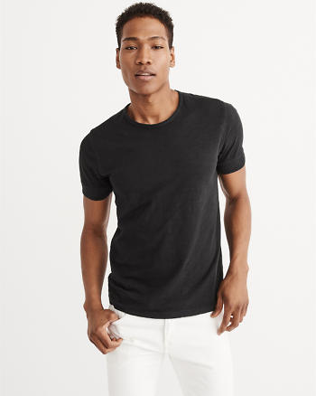 ANF Ribbed Sleeve Tee