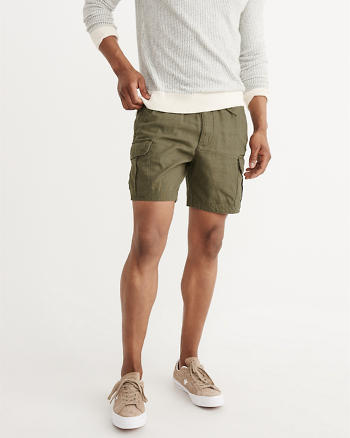 ANF Pull-On Cargo Shorts