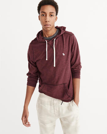 ANF Sweater Knit Hoodie