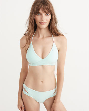 ANF Wrap Front Triangle Top