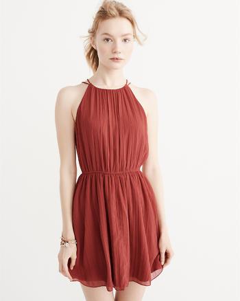 ANF High-Neck Dress