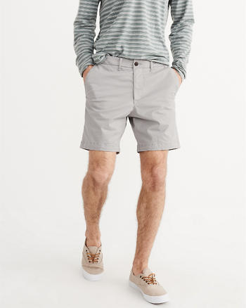 ANF Flat-Front Shorts