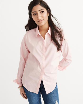 ANF Classic Poplin Shirt