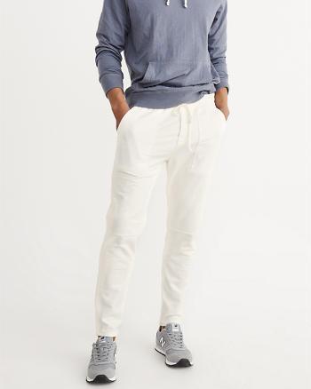 ANF Fleece Tapered Pants