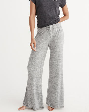 ANF Cozy Wide Leg Pants