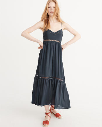 ANF Ladder Trim Maxi Dress