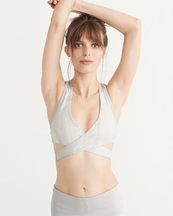 ANF Active Wrap Sports Bra