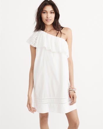 ANF One-Shoulder Shift Dress