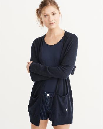ANF Cashmere Silk Cardigan