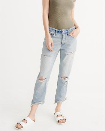 ANF Ripped Boyfriend Jeans