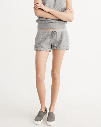 ANF Tie-Waist Shorts