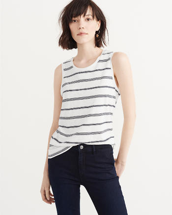 ANF The A&F Muscle Tee
