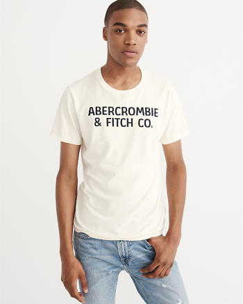 ANF Applique Graphic Tee