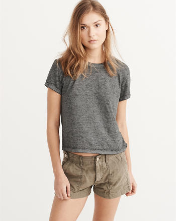 ANF Burnout Boxy Tee